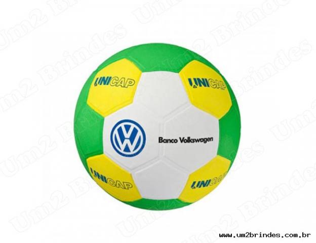 edbd428380 Bola De Futebol 14 Gomos Eva personalizado para brinde. Cód  53 ...