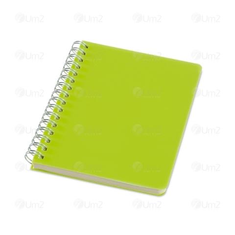Caderno com Capa de Plástico