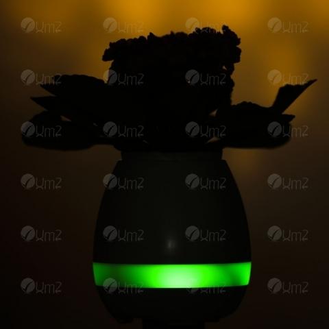 Caixa de Som Vaso com Sensor e Bluetooth