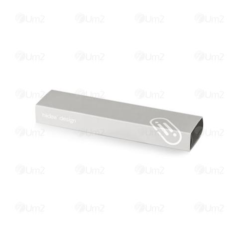 Caneta alumínio Wass
