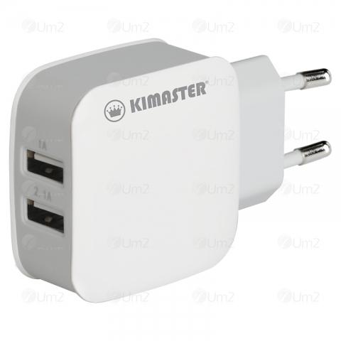 Carregador de Parede Dual USB