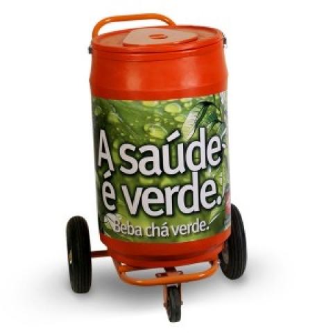 Cooler Carrinho 75 latas