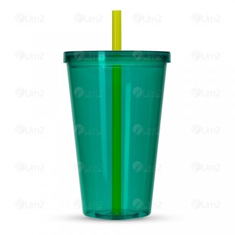 Copo Plástico 1L com Tampa