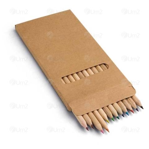 Kit Lápis de cor - 12 unidades