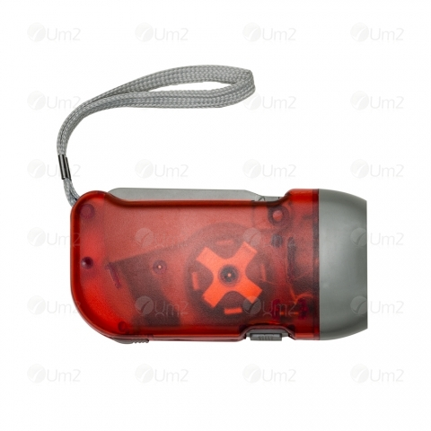 Lanterna Dínamo 3 LEDS