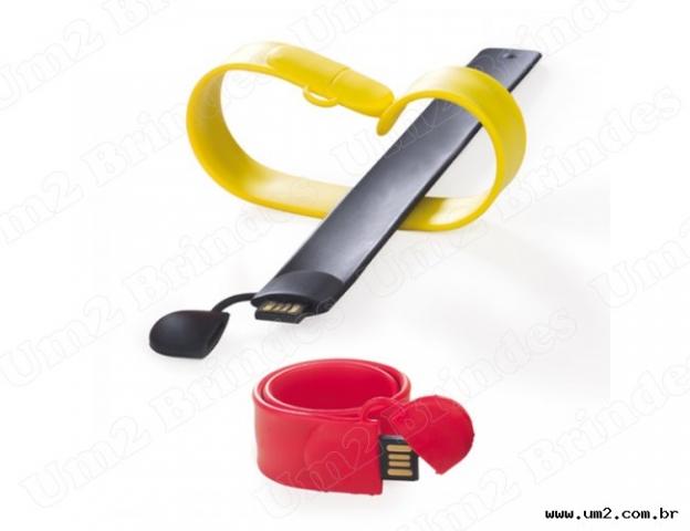 Pen Drive Pulseira Bate-Enrola