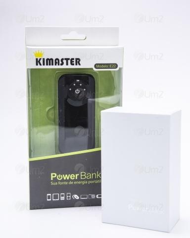 Power Bank com 2 Baterias Internas