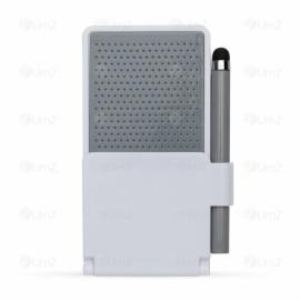 Base Plástica para Celular com Caneta Touch