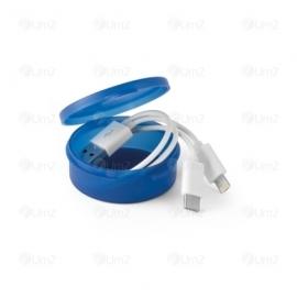 Cabo USB 3 em 1