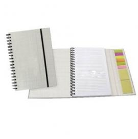 Caderno com Marcadores