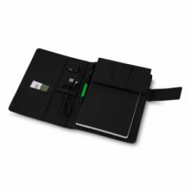 Caderno com Power Bank Indução