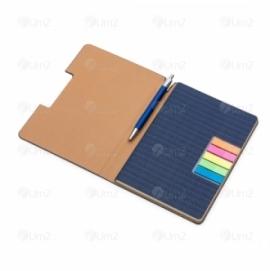 Caderno com Sticky Notes