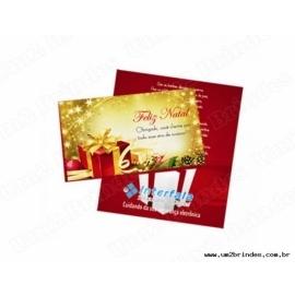 Cartão de Natal 15x10