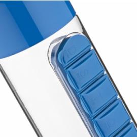 Garrafa Plástica com Porta Comprimidos