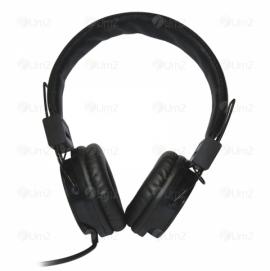 Headphone de Couro Síntetico