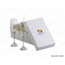 Kit 2 Taças Para Champagne