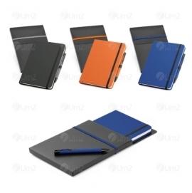 Kit Caderno e Esferográfica