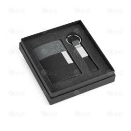 Kit Porta Cartão e Chaveiro