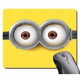 Mouse pad redondo ou retangular personalizado