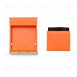 Porta Celular e Limpador de Tela