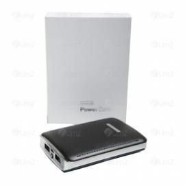 Power Bank 3 baterias e 2 entradas USB
