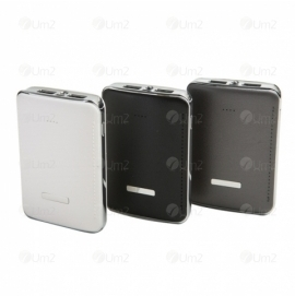 Power Bank 3 baterias e 2 entradas USB