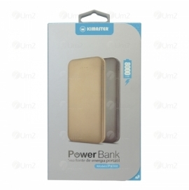 Power Bank Metálico Ultrafino