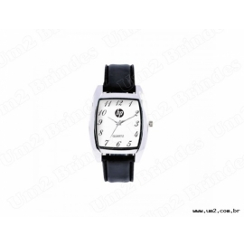 Relógio de Pulso Feminino com Pulseira de Couro