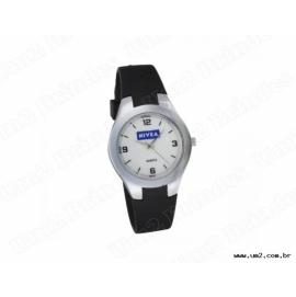 Relógio de Pulso Feminino com Pulseira de Plástico